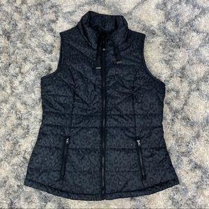 Maurices Leopard Print Puffer Vest Neutral Minimalist Capsule Wardrobe Jacket